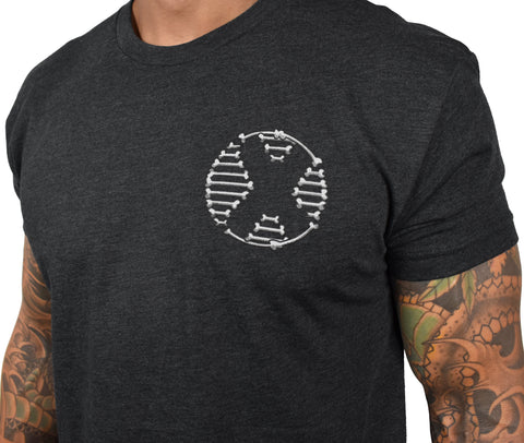 Men's 'Nowhere Riders - Hawaii Chapter' Tee - Charcoal