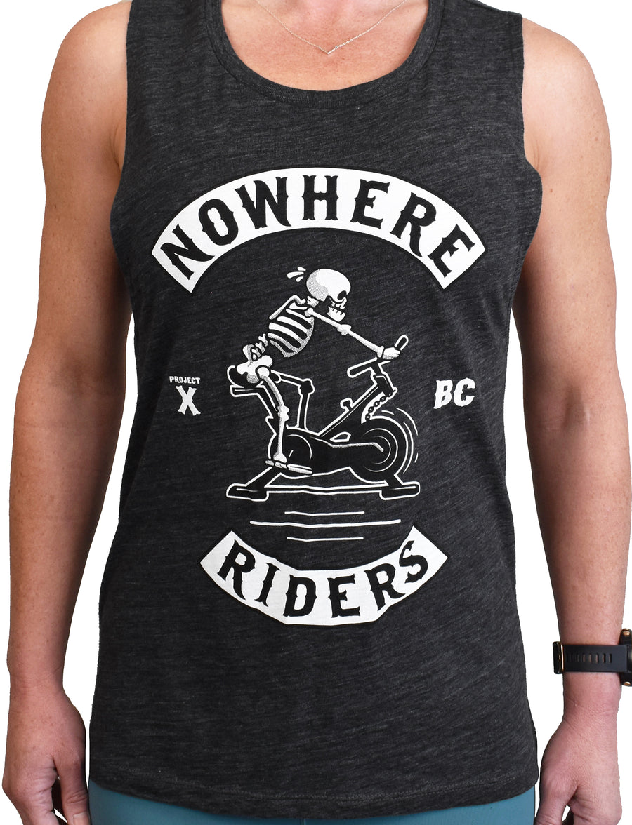 Women's 'Nowhere Riders' Muscle Tank