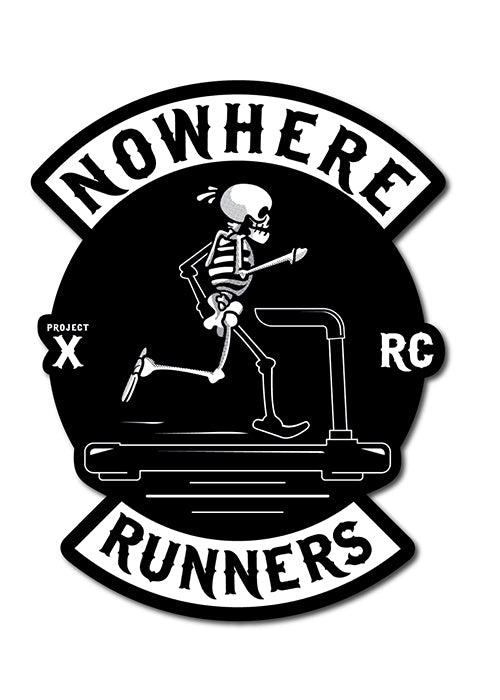 'Nowhere Runners' Sticker