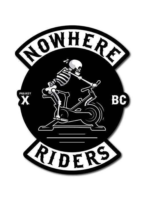 'Nowhere Riders' Sticker