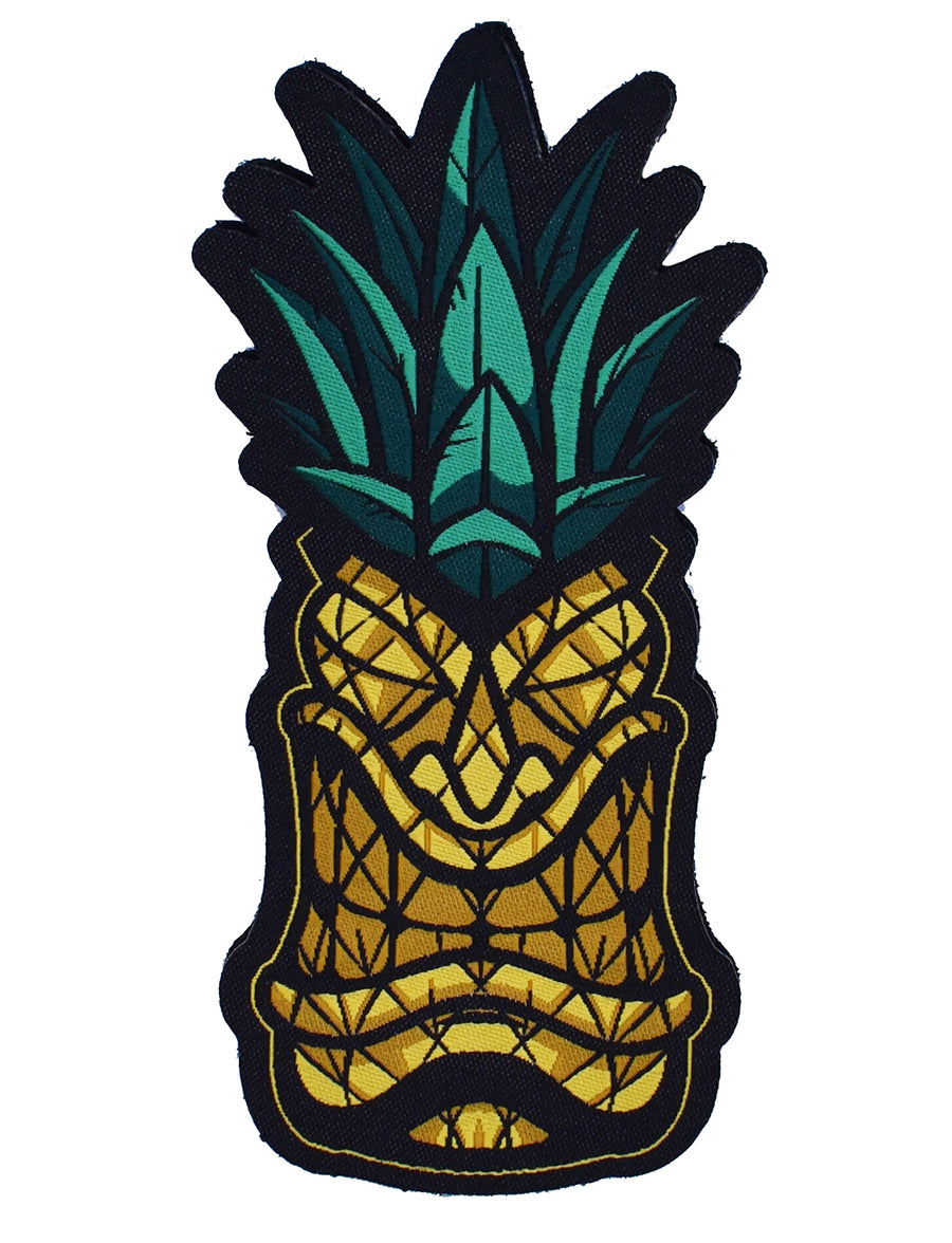 'Pineapple Tiki' Woven Patch - VELCRO