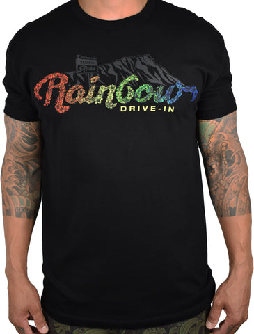 Men's 'Rainbow Drive-In' Tee