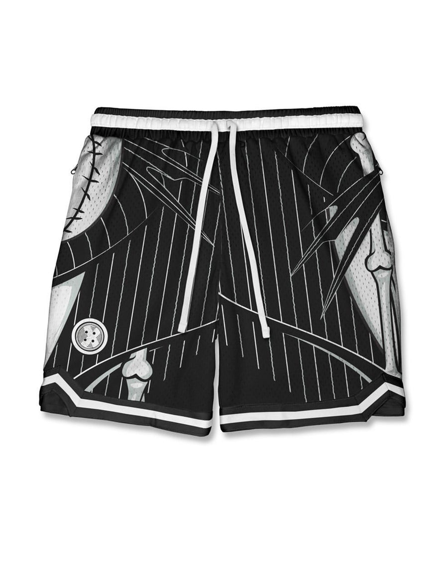 Men's 'Skellington' Hoop Shorts