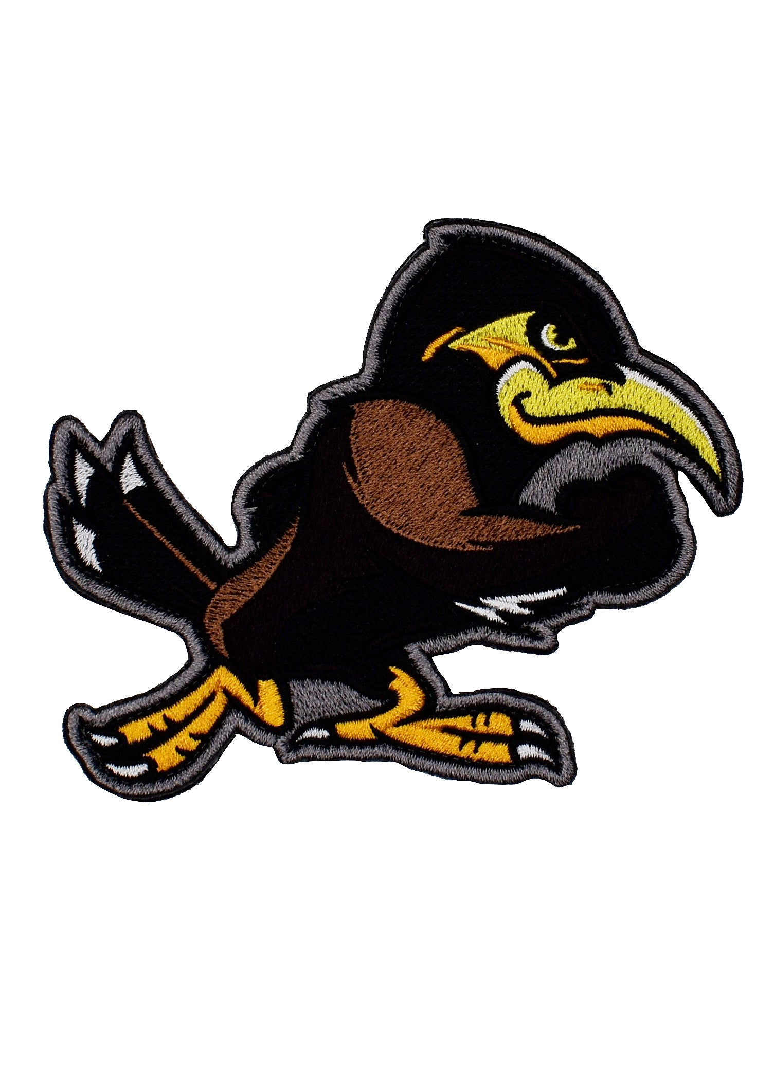 Embroidered 'Strong Like Myna' Velcro Patch