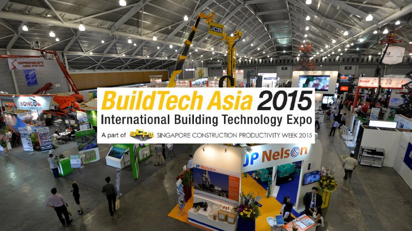 Structo Exhibits at BuildTech Asia 2015