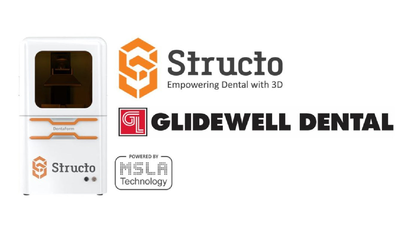 Glidewell Dental Announced as Launch Customer for New Structo DentaForm 3D Printer