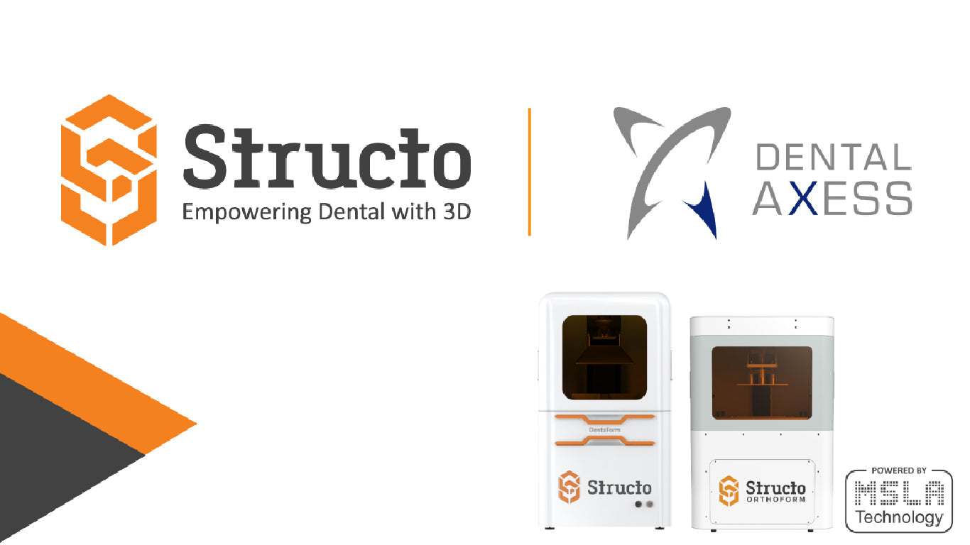 Structo Announces Distribution Partnership with Dental Axess, Extending Its Reach Across Four Continents