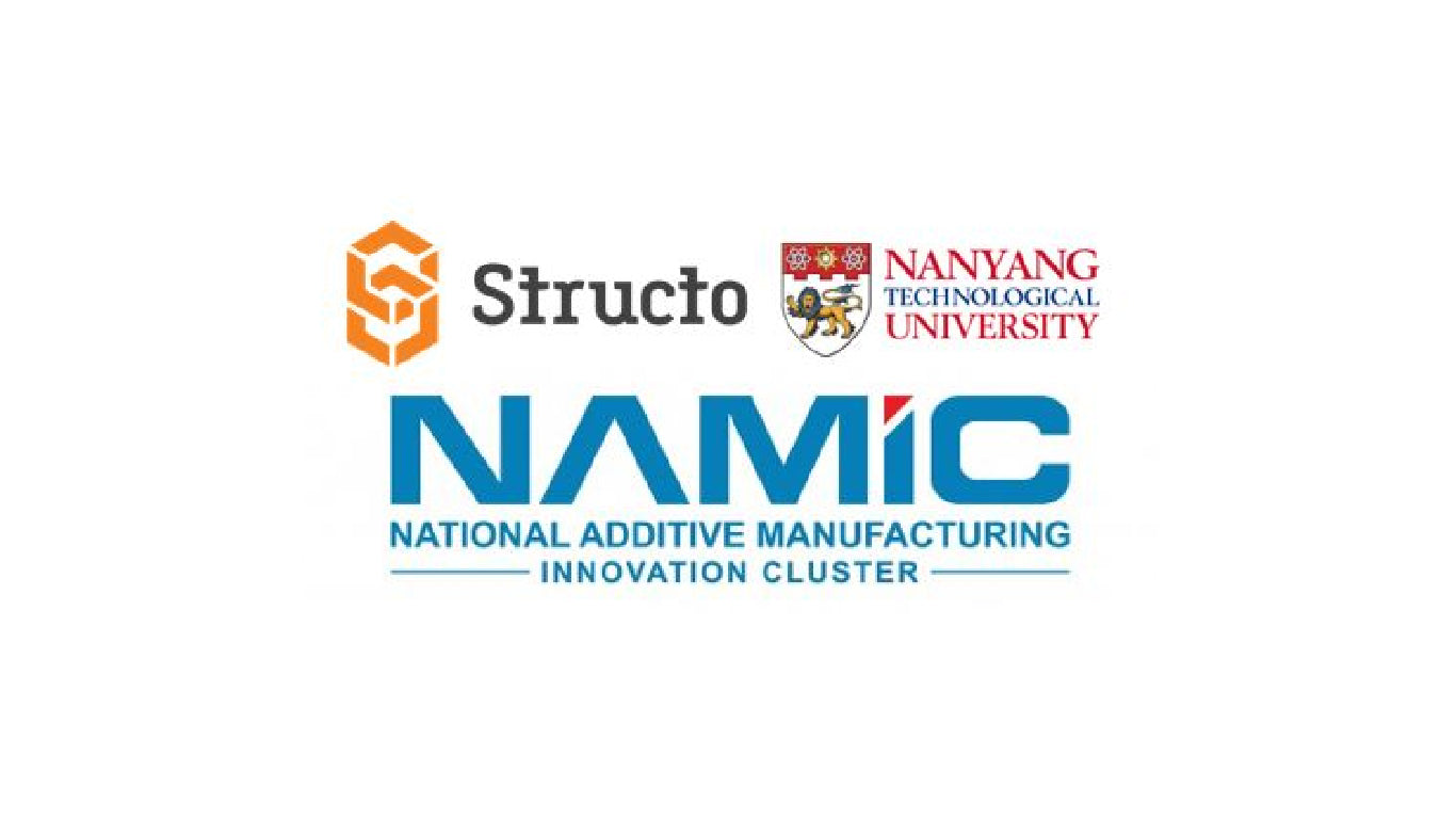 Structo-NTU secure S$200,000 NAMIC Grant to explore 3D Bioprinting