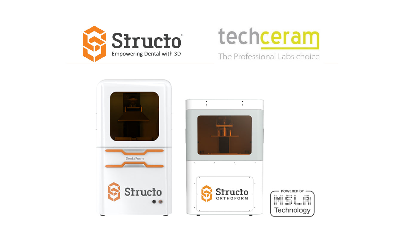Structo Announces Partnership with Leading UK CAD/CAM Distributor, Techceram Digital Ltd