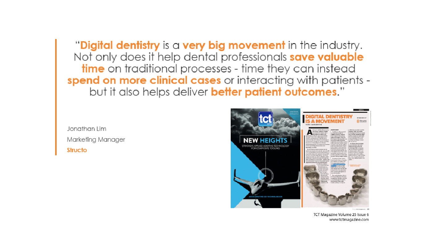TCT Magazine: Digital Dentistry Is A Movement | Dental Feature Q4 2017
