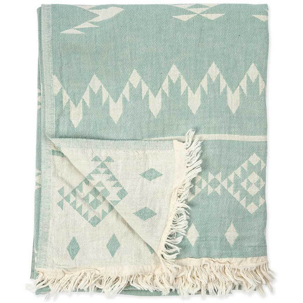 Pokoloko Turkish Towel Atlas Coastline Blue
