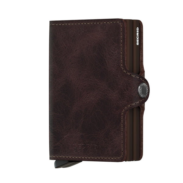 SECRID Twinwallet - Vintage Chocolate