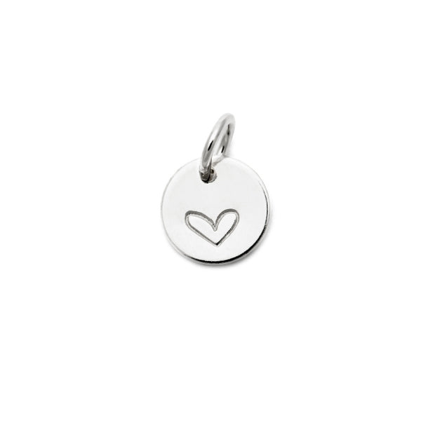 Ls Dear Hart Charm - Heart - 6.4mm