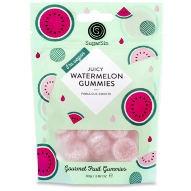 SugarSin Juicy Watermelon Gummies