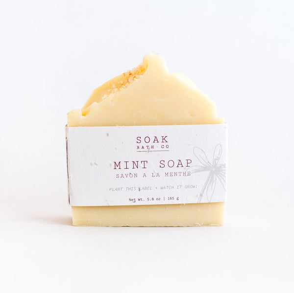 SOAK Mint Soap Bar