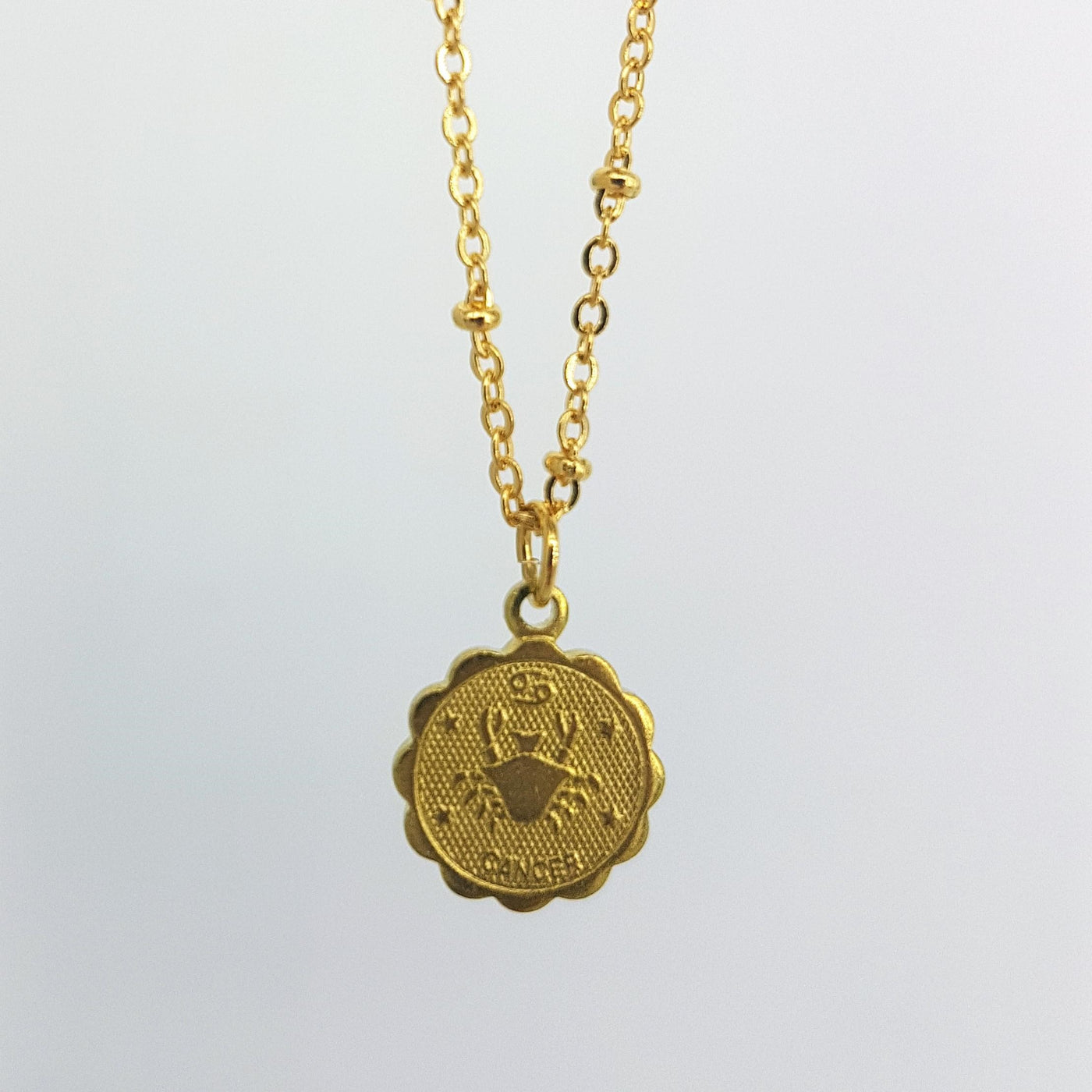 Zodiac Charm Necklace - Cancer