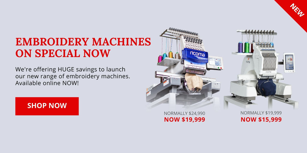 Best Embroidery Machines NZ