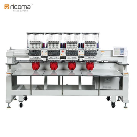 Ricoma 4 Head Commercial Embroidery Machine