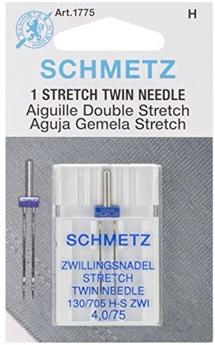Schmetz Stretch Twin Needle Sewing Needles