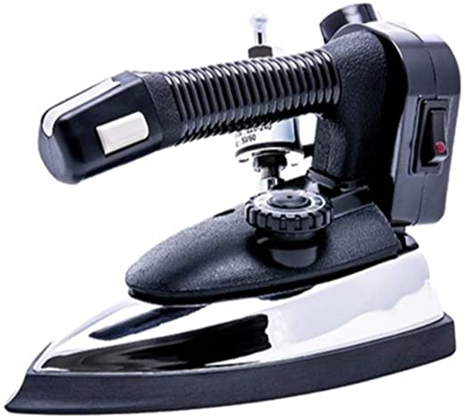 Gravity Feed Steam Iron with Water Bottle