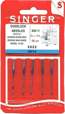 Singer Household Domestic Overlocker Needles