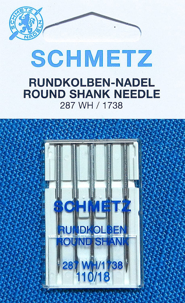 Schmetz 287WH Round Shank Sewing Needles