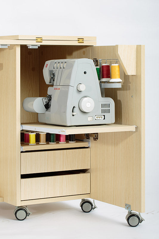 Large Foldable Sewing Cabinet & Table
