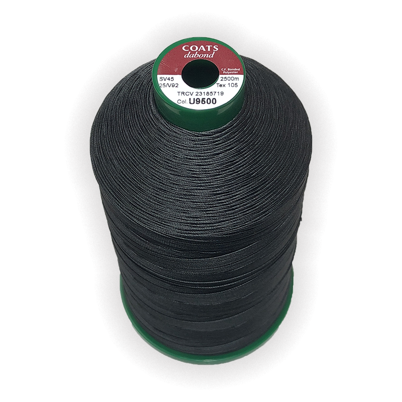 Coats Dabond V92 Bonded Polyester UV Resistant Thread 2500m. Ticket 25