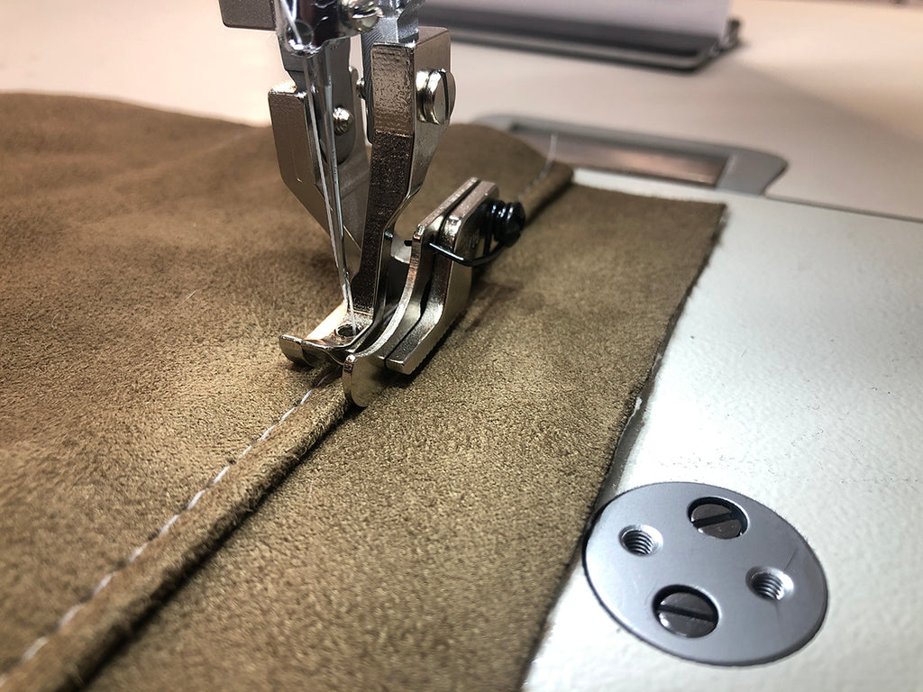 Walking Foot Machine Top Stitch Guide Foot - Right