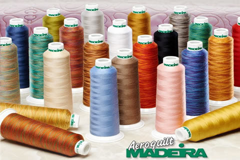 Madeira AeroQuilt Premium All Purpose Sewing Thread (Single Colour) - 2750m, Various Colours