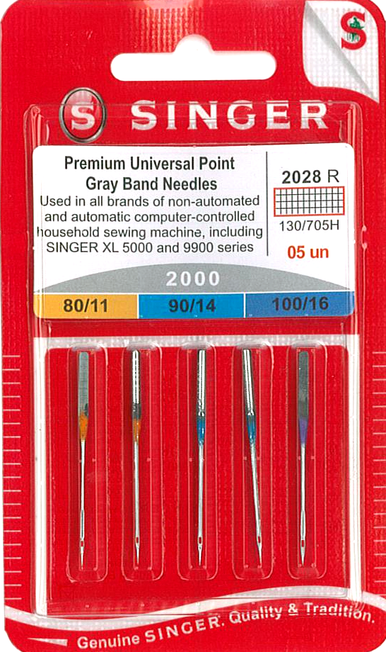 Singer Domestic Embroidery Needles