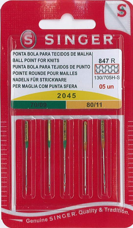 Singer Knit Fabric Needles