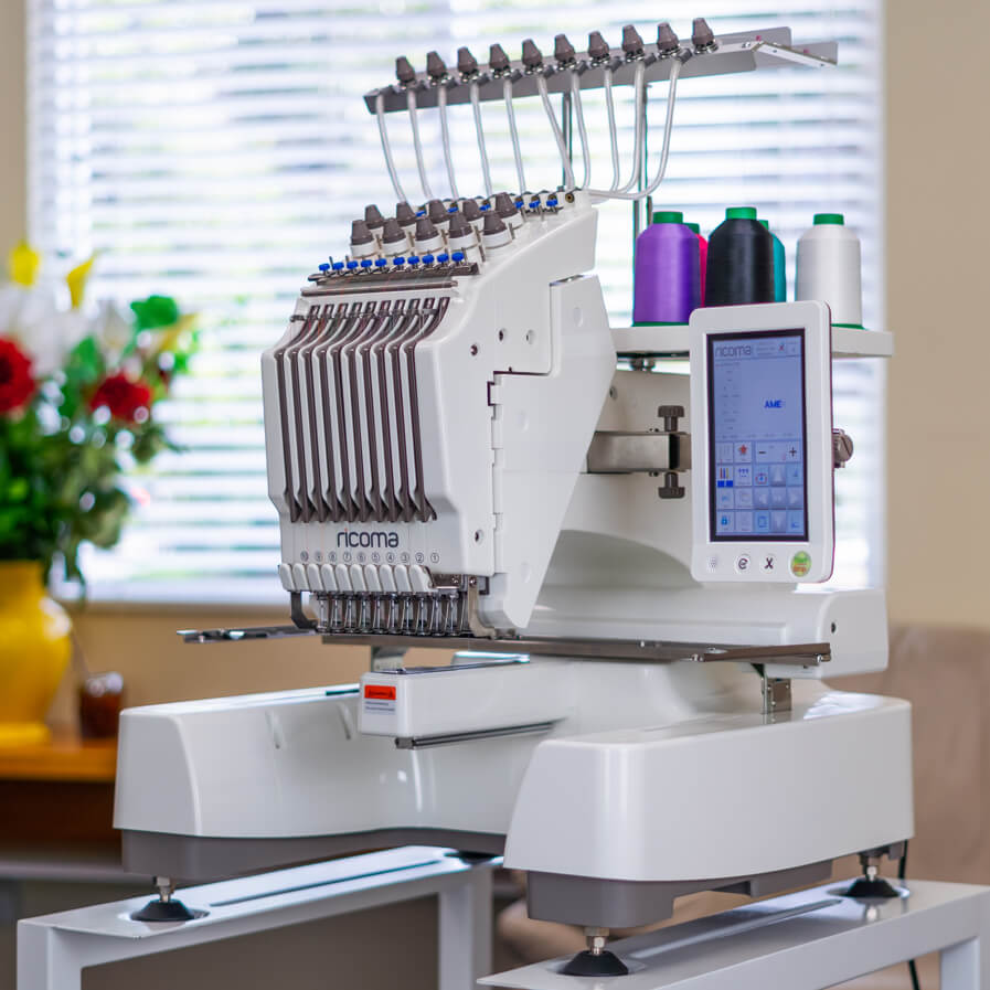 Ricoma Compact Semi-Commercial Embroidery Machine