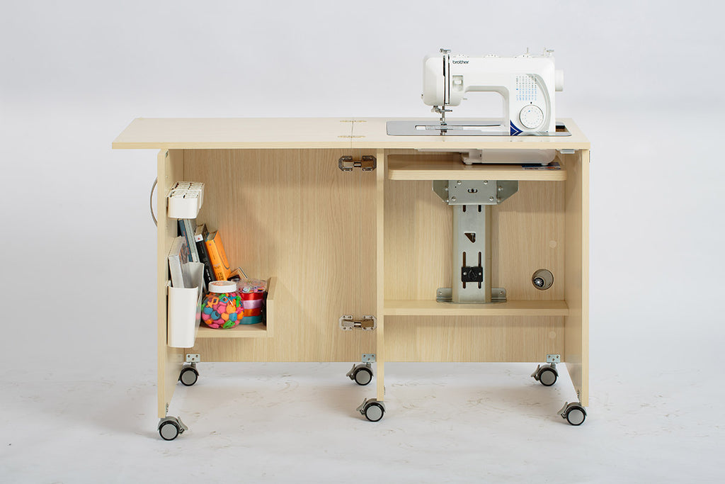 Foldable Sewing Cabinet & Table