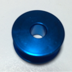 BLUE Aluminium Plain sewer Bobbin