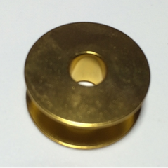 GOLD Aluminium Plain sewer Bobbin