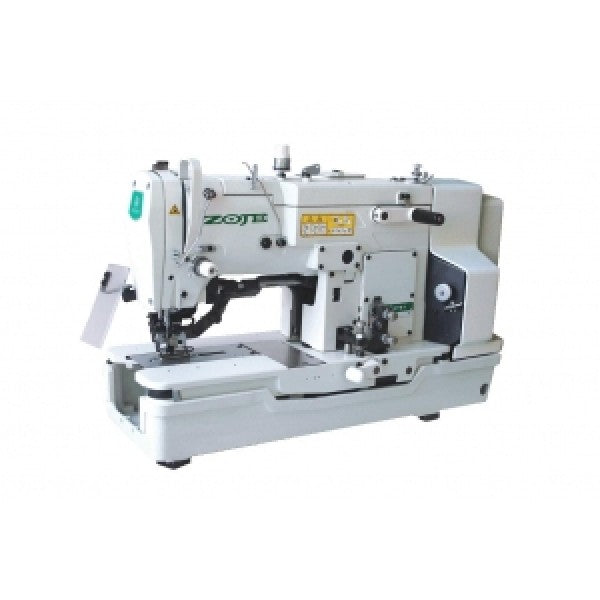Zoje Direct Drive Button Holer Machine