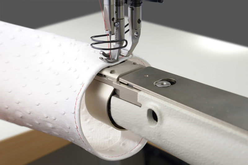 Cylinder Arm Walking Foot Sewing Machine with Binder