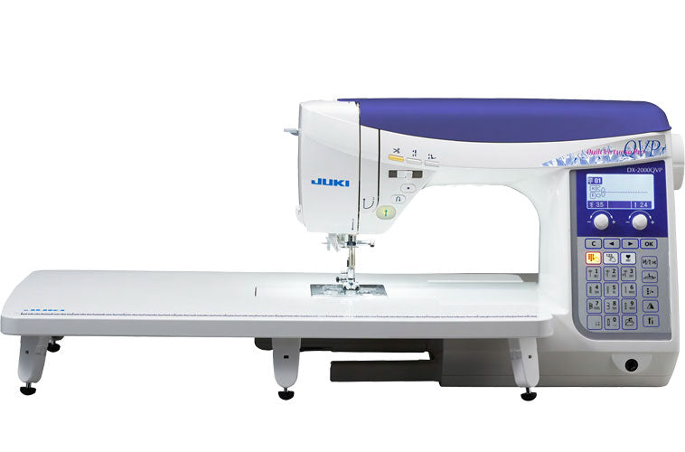 Juki Electronic Quilting Machine DX-2000QVP - Australia Only