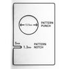 2 in 1 - Pattern Notcher and Pattern Punch