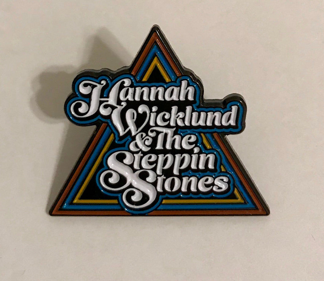Triangle Logo Enamel Lapel Pin