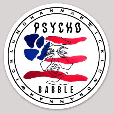 Psychobabble Sticker