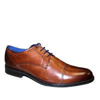 Dubarry Derek. Laced men's shoe from Dubarry's formal range. Soft leather uppers with cushioned leather insole in a toecap style. Perfect under suits or with a trousers and shirt. Available from www.moransshoes.com