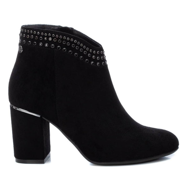Fashion boot from XTI. Beautiful stud detail with a block heel. Available from www.moransshoes.com
