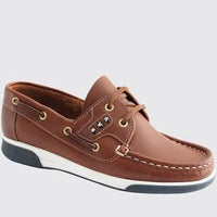 Deckshoe from Dubarry in Brown. Available from www.moransshoes.com