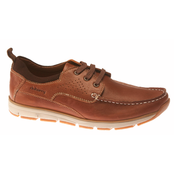 Dubarry Matthew Brown. Laced moccasin style from Fubarry. Soft leather uppers with cushioned leather insole. Available from www.moransshoes.com