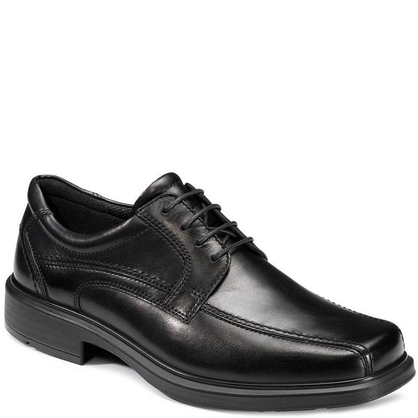 Men's ECCO Helsinki. Leather upper plus insole with arch support and shock absorbers in heel. Lightweight and flexible with a wide fit. Available from www.moransshoes.com