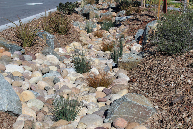 Dry Streambed Projects Install Ideas