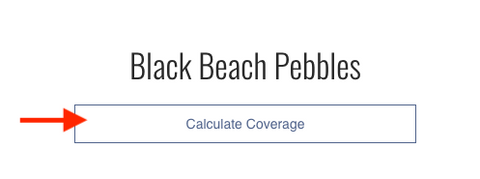 Coverage Calculator for Landscaping Rock