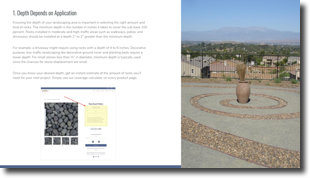 Online Stone Solutions E-Book:Incorporating Decorative Rocks into Your Home Landscape